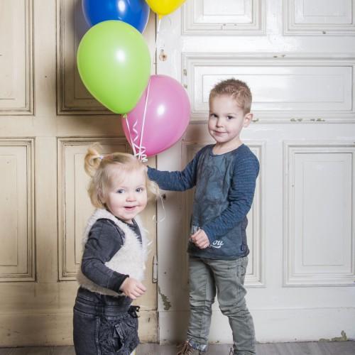 Kinderfotografie, Ballonnen, Kids, Fotoshoot